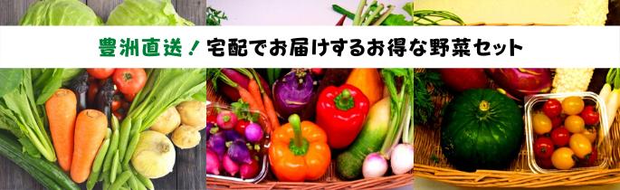 宅配でお届けするお得な野菜セット