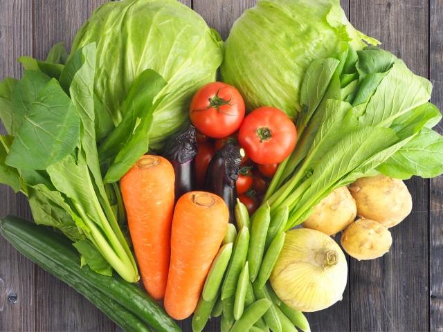 鮮度抜群の野菜