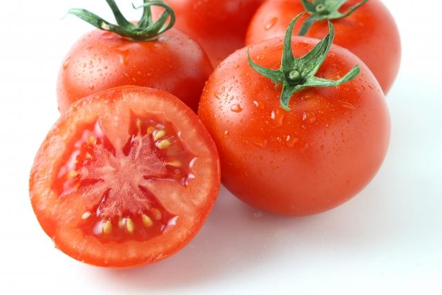 鮮度の高いトマト