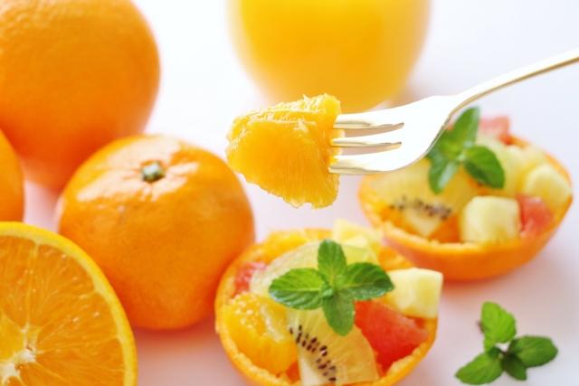 オレンジを使った料理